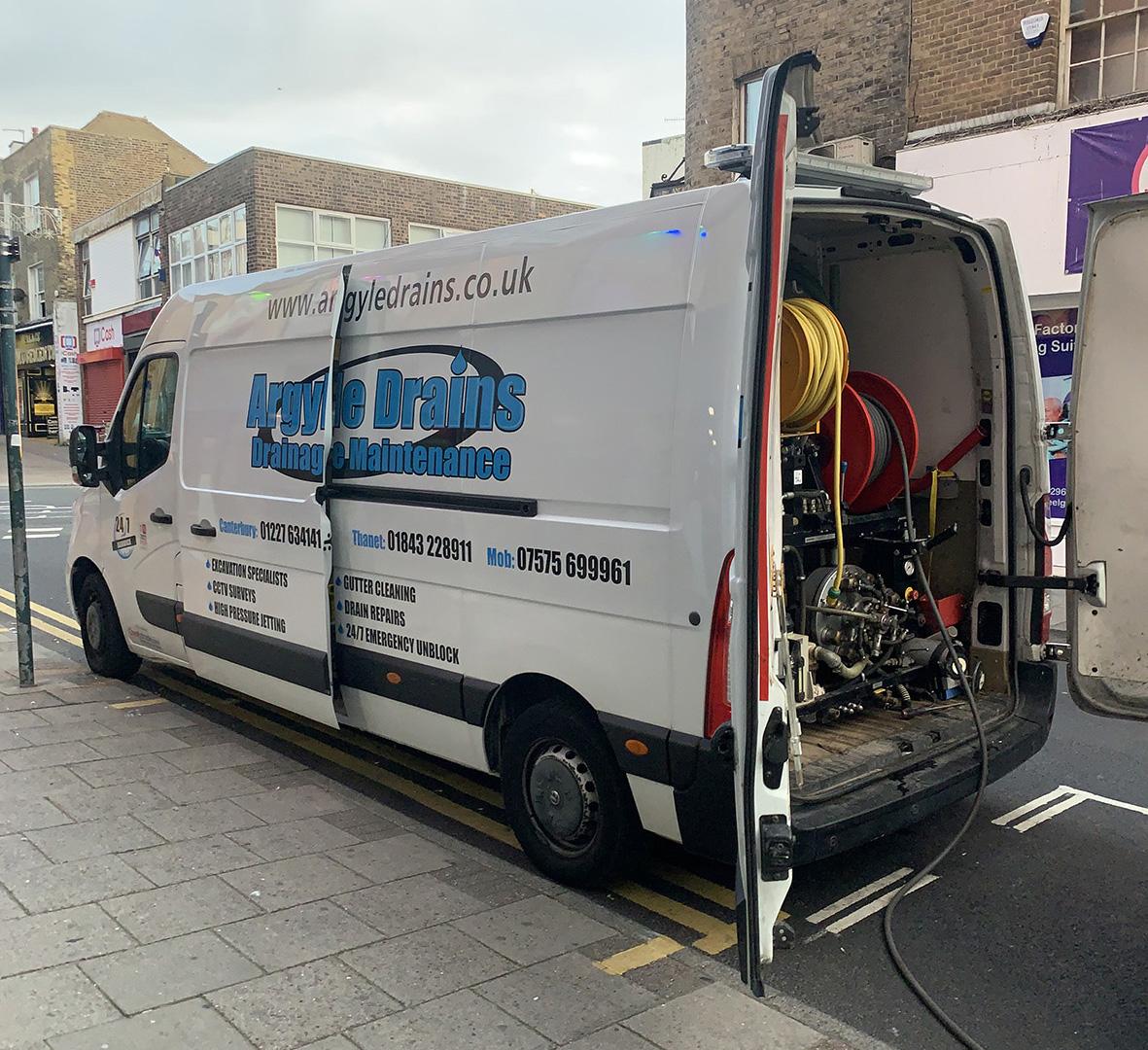 Unblocking a Blocked Drain In Ashford
